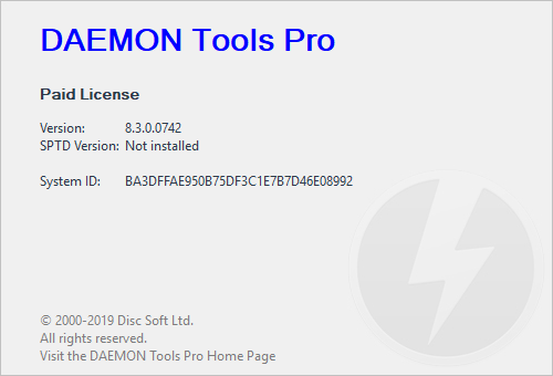DAEMON Tools Pro Crack Serial Key