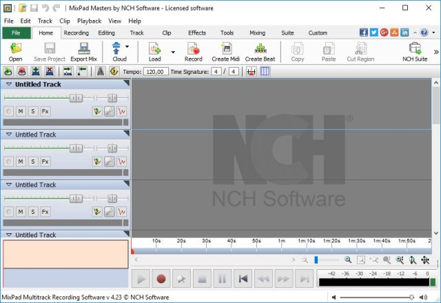 NCH MixPad Masters Edition Crack Serial Key
