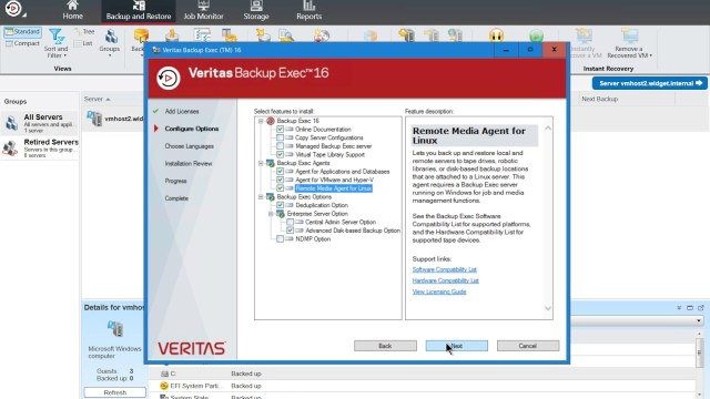 Veritas Backup Exec Serial key