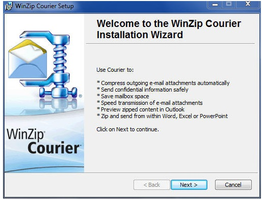 WinZip Courier Crack Serial Key