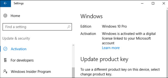 Windows 10 Digital License Ultimate Crack Patch