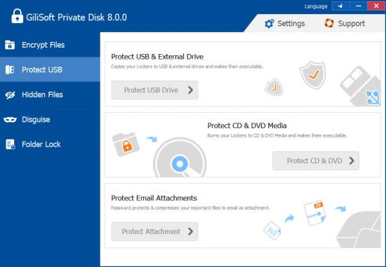 GiliSoft Private Disk crack patch