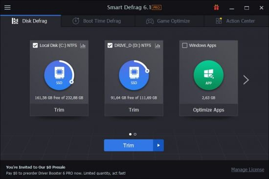 IObit Smart Defrag Pro License Key