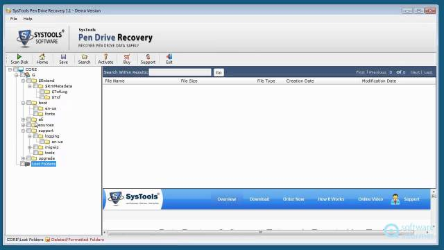 SysTools Pen Drive Recovery Crack patch