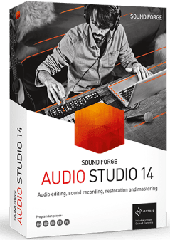 MAGIX SOUND FORGE Audio Studio Crack