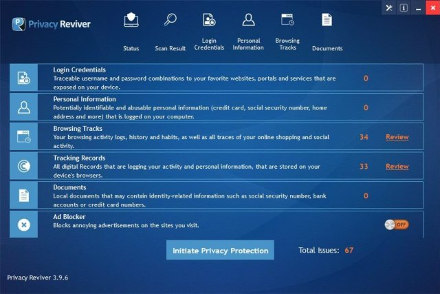 Privacy Reviver Crack Serial Key