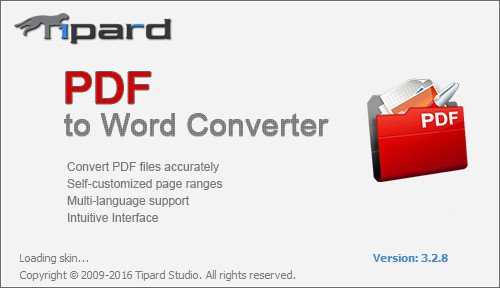 Tipard PDF to Word Converter crack Patch