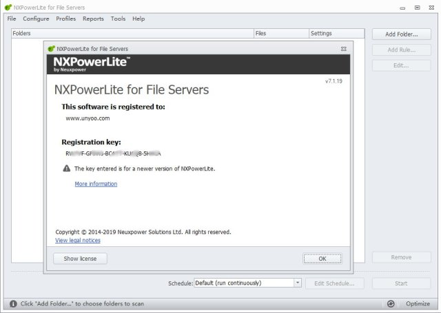 NXPowerLite for File Servers crack Patch