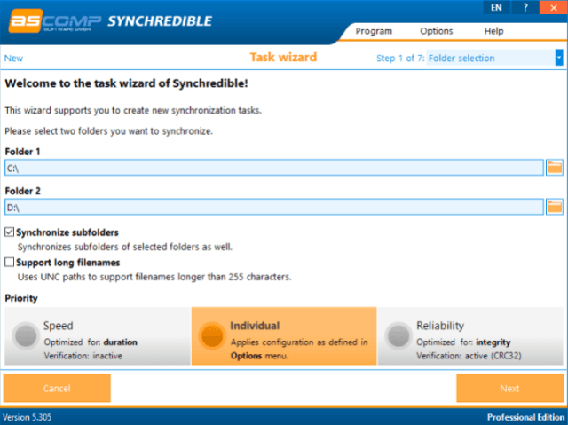 Synchredible Professional License Key