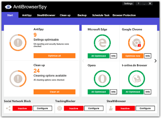 Abelssoft AntiBrowserSpy Download
