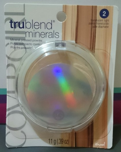 Cover Girl Trublend Minerals Face Powder