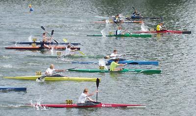 Daniel Bolliger (2. von oben) verpasste um weniger als eine Sekunde den Einzug in den Final