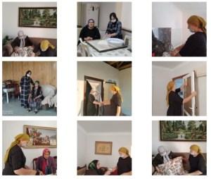 В рамках исполнения должностных обязанностей представители ГБУ «КЦСОН» Ачхой-Мартановского муниципального района накануне посетили своих подопечных на дому