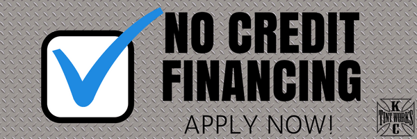 No Credit Financing Available