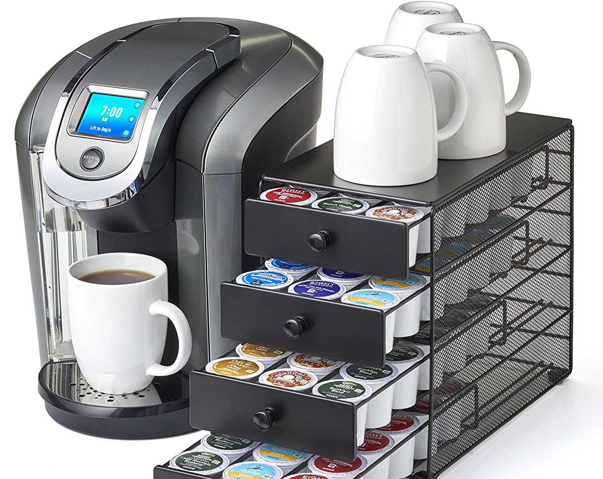 K-Cup Capacity Storage Drawer