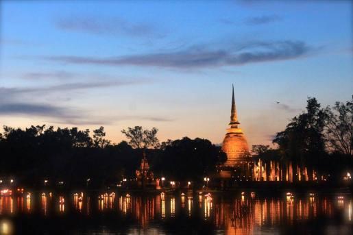 The famous Sukhothai Historical Park