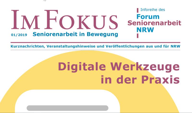 Cover Ausschnitt Im Fokus Ausgabe 1-2019