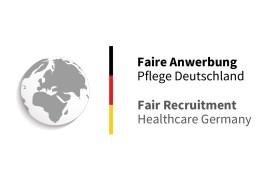 """Gütesiegel """"Faire Anwerbung Pflege Deutschland"""""""
