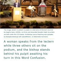Word Confusion: Lectern vs Podium vs Pulpit