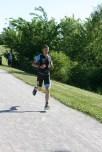 Run end of lap 1