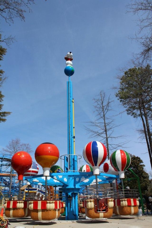 Flying Ace Ballon Race
