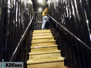 New exit stairs