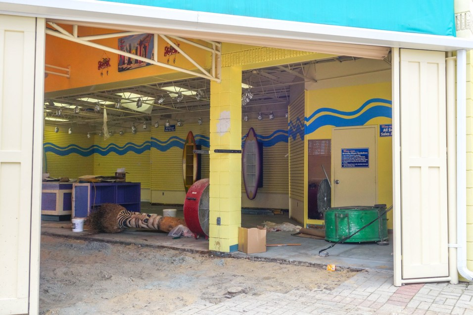 A look at the ongoing renovations at Shorts & Shades