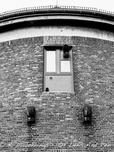 Brick Building Harbour Hamburg