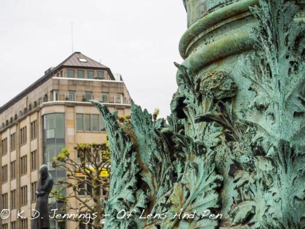 Hamburg In Colour Series - Old Town - Pillar Detail