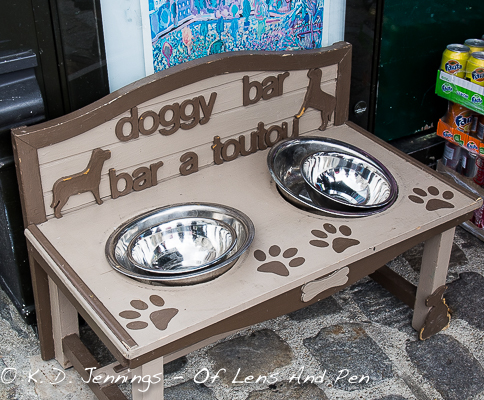 Paris Doggy Bar On The Butte Montmartre
