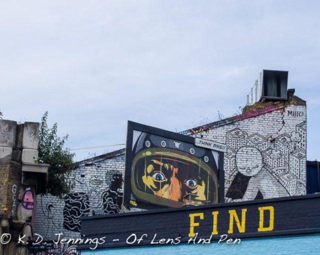 Street Art in Shoreditch London Photo 3