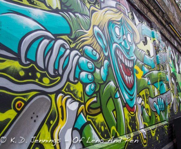 Street Art in Shoreditch London Photo 4