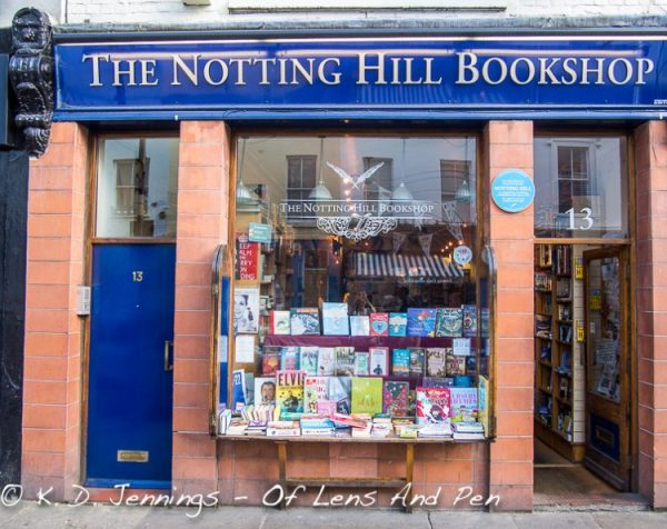The Notting Hill Book Shop London