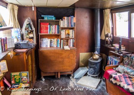 Word On Water - The London Book Barge