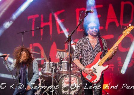 The Dead Daisies - Musikmesse Frankfurt 2016 - John Corabi, Marco Mendoza, Brian Tichy