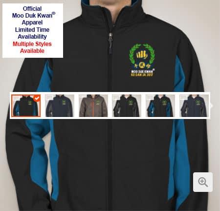 Guys & Ladies Port Authority Color Block Jackets Embroidered With Moo Duk Kwan® Ko Dan Ja 2017