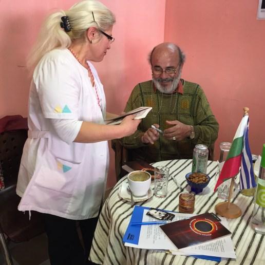 Валери Станков сред българските творци в Атина