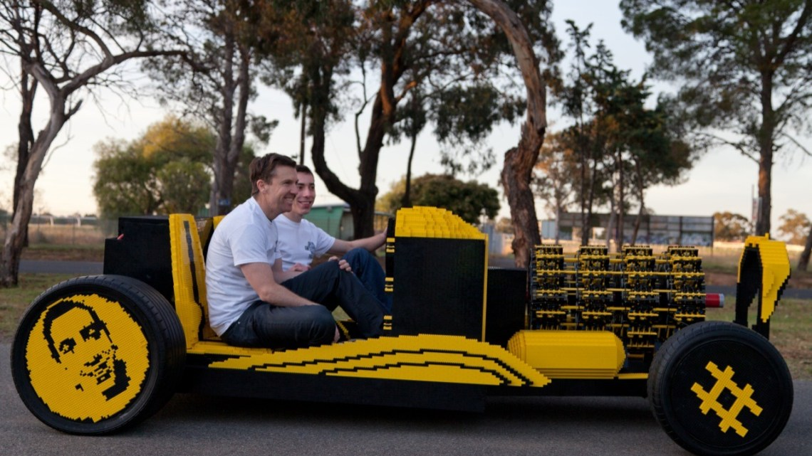 The World's Only Operational Lego Car
