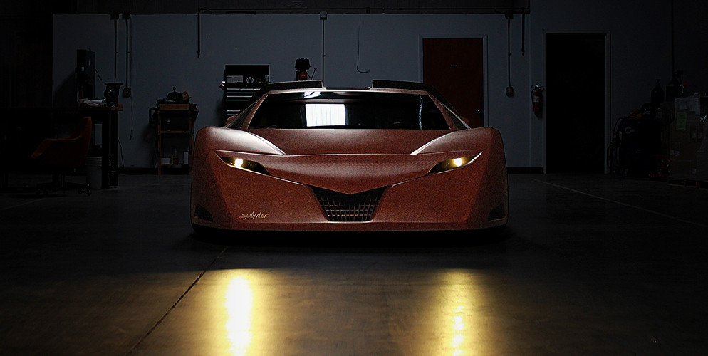 """""""The Splinter"""" A Supercar that Will Give You Serious Wood."""