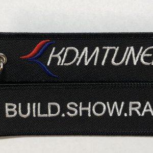 Kdm Logo Flight tag key chain