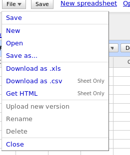 Google Spreadsheets 04