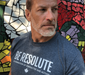 Keith D Publicover, Founder, Resolute Clothing Co, Supporting Vulnerable Youth to Reach Their Potential