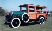 Antique K.D. Rosengrant Truck