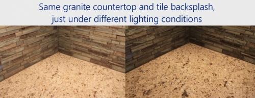 KitchenRemodel-2017-Web-GraniteTileLightingComparison