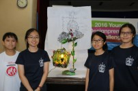 Champion Team - De Exquisite (Ave Maria Convent) with their prototype