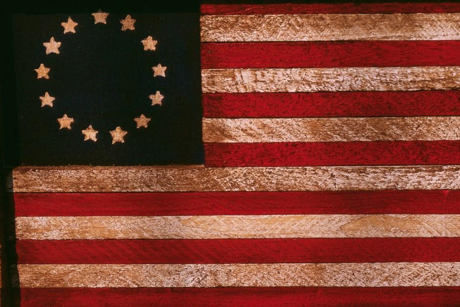 Historic United States Betsy Ross Flag