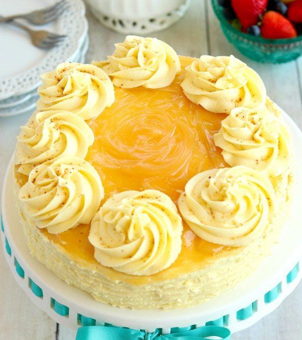 Lemon Cake to Celebrate My Grandfather's Birthday: RIP