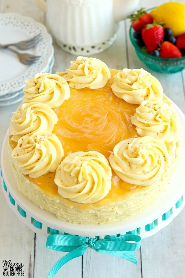 Lemon Cake for my grandfather's birthday. RIP bestefar!