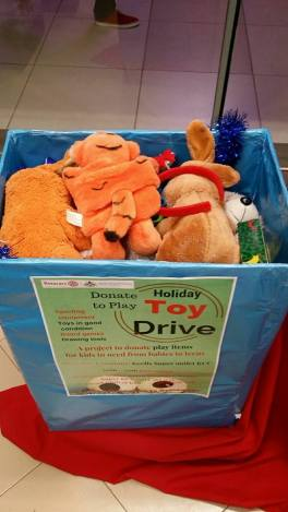 Collecting toys to donate kids :)
