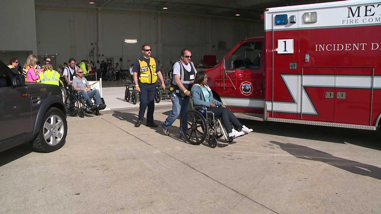 Denver International disaster drill. May 16, 2012